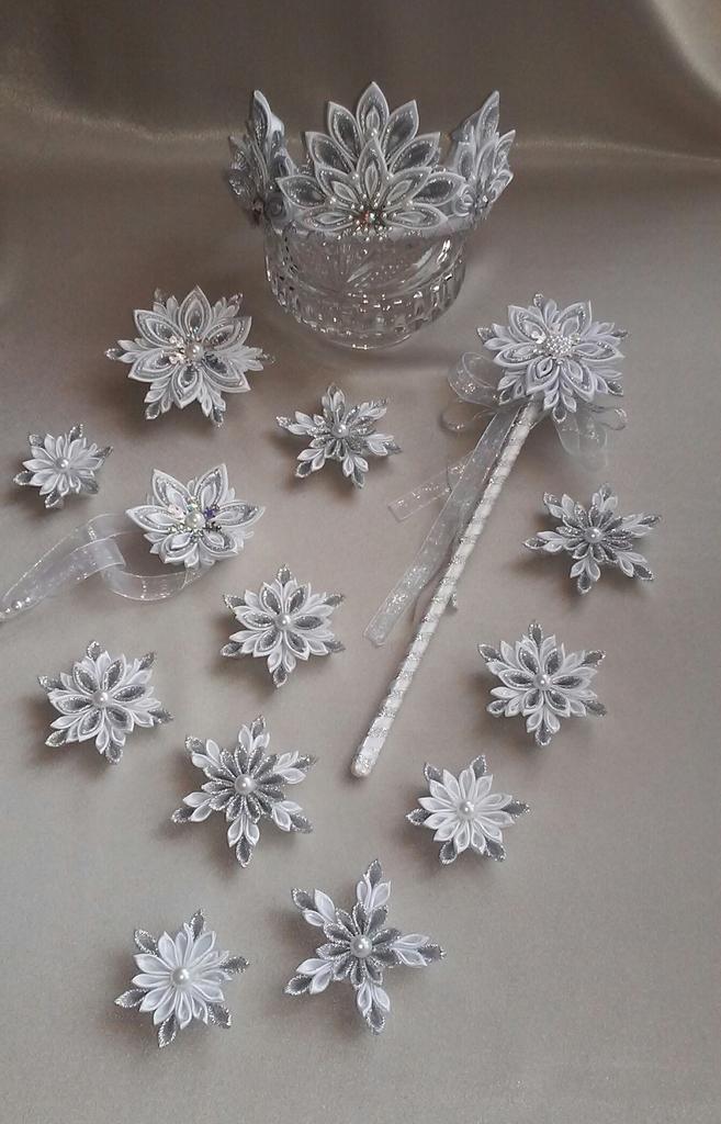 Палочки для снежинок своими руками