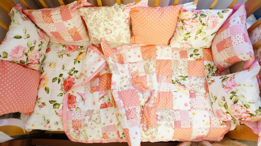Детское постельное белье с бортиками своими руками