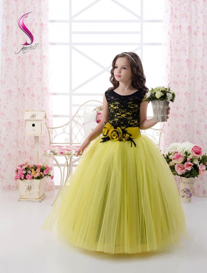 Платье детское на конкурс красоты