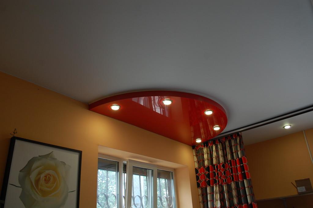 Варианты исполнения натяжных потолков с использованием конструкций - фотография 126446 закрыть окно