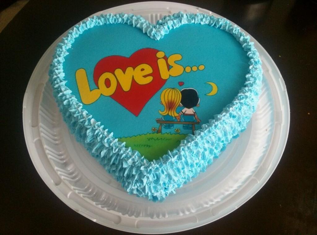 Как наносить картинку на торт
