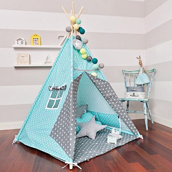 Палатка для ребенка своими руками из ткани 55