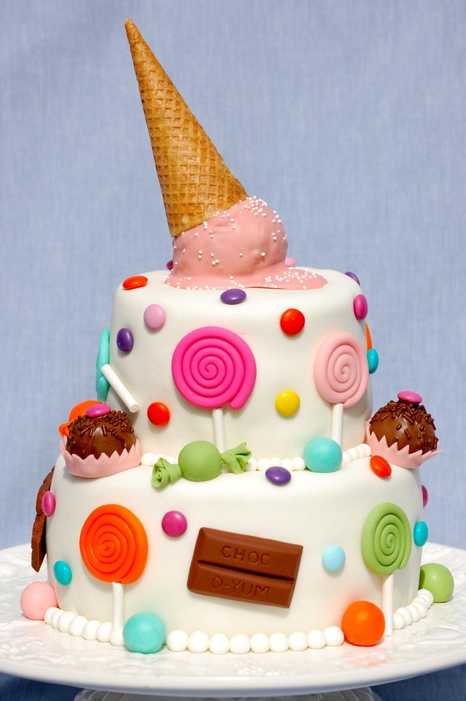 Торт с мастикой на детский день рождения своими руками