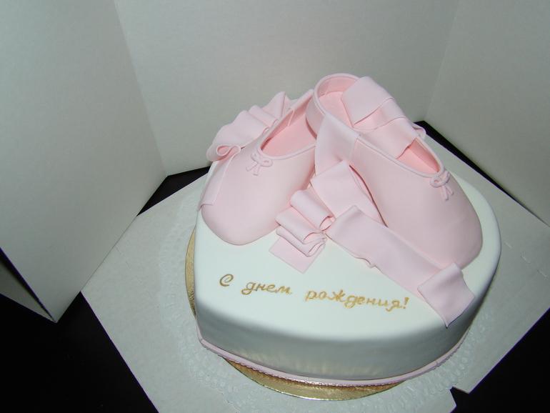 Красивые торты с пуантами фотографии