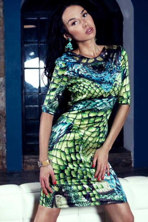 Дизайнерское платье из натурального шелка, 40 размер. 9 000 руб