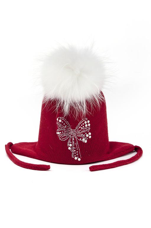 Продам НОВУЮ зимнююю шапку Solorana размер 50-52, цвет красный, состав 70% шерсть мериноса,30%акрил, помпон - мех песца цена 2500 руб