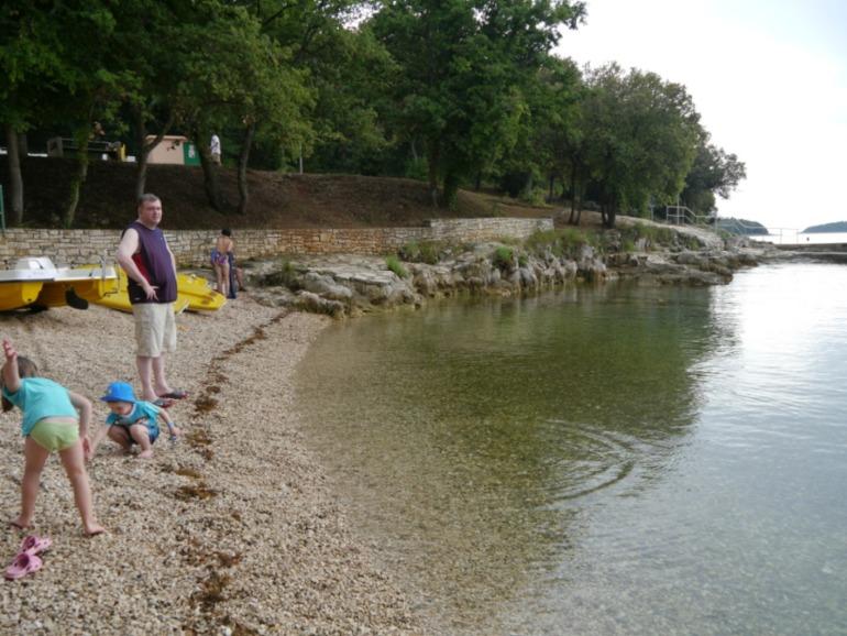 Июнь 2012, Хорватия, Истрия, отель Фунтана Резорт, 3 звезды все включено.