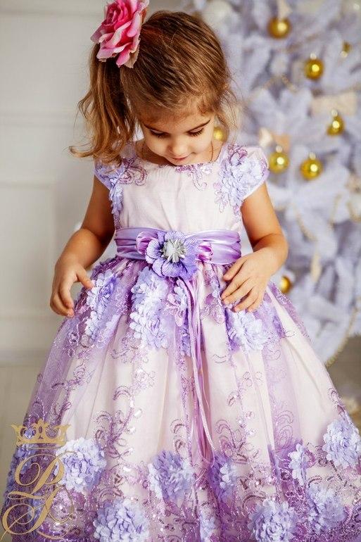 Купить Нарядное Платье Для Девочки На Новый Год