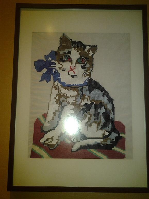 кот тоже бабушкин