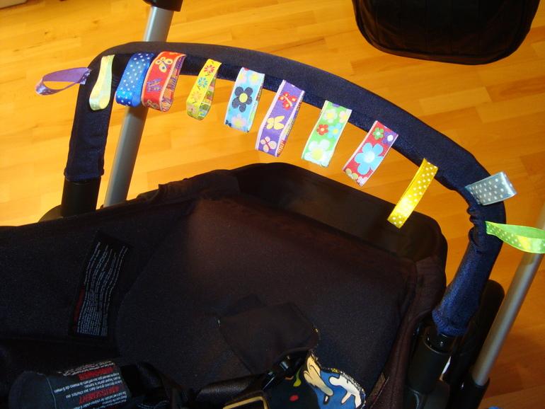 Чехол на бампер коляски