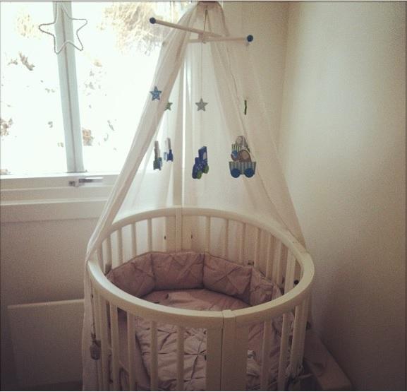 Детская кровать-трансформер Stokke Sleepi Mini+Bed