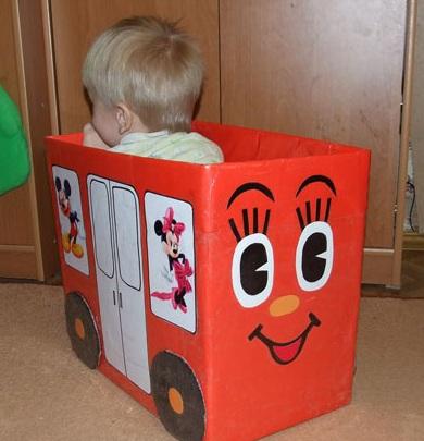 Как сделать своими руками коробку для игрушек