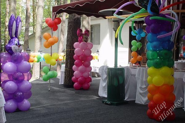 Арка из шаров на свадьбу своими руками. Как украсить