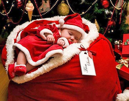 Картинки ребенок с новым годом
