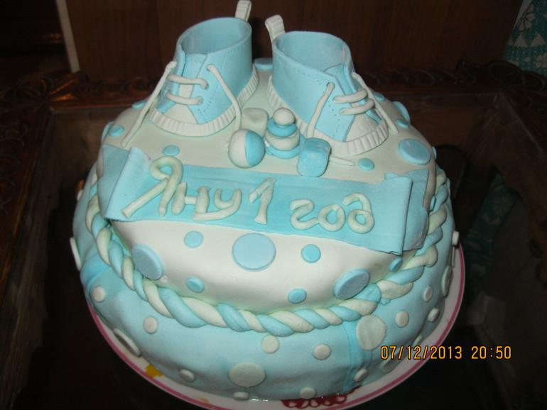 Первый мой тортик.