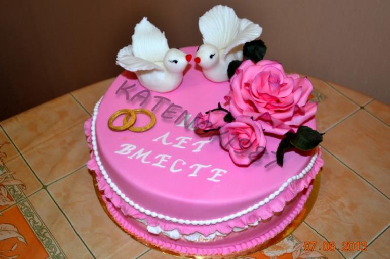 Оригинальные торты на годовщину свадьбы фото