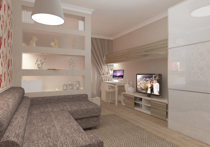 Как зонировать комнату для родителей и ребенка: фото идеи