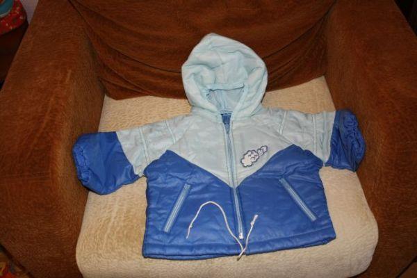 Комплект Carter's и легкая курточка
