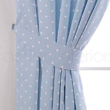 Curtain tie backs for kids