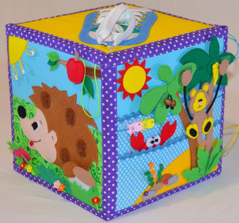 Кубики для детей до года своими руками 80