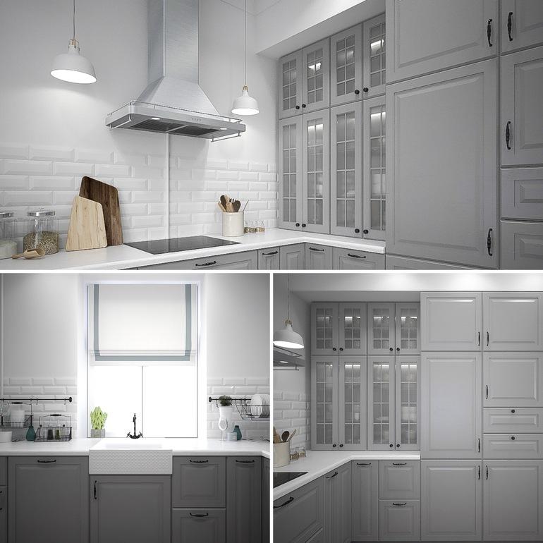 Икеа / IKEA Кухня МЕТОД - Как смотрятся фасады БУДБИН