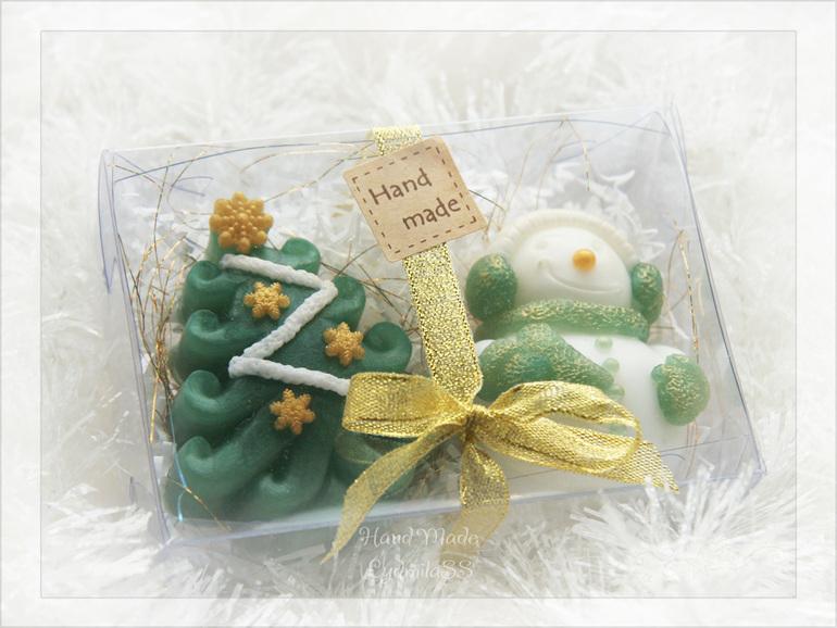 Новогодние подарки мыло ручной работы