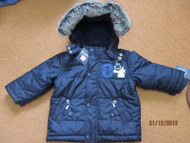 Продам куртку тёплая зима - весна рост 80 1500 руб.
