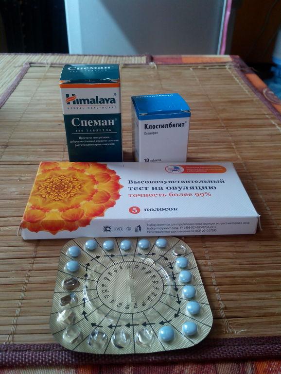 Таблетки для стимулирующие зачатия 196