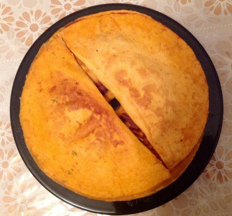 Рецепт лепешки для шаурмы