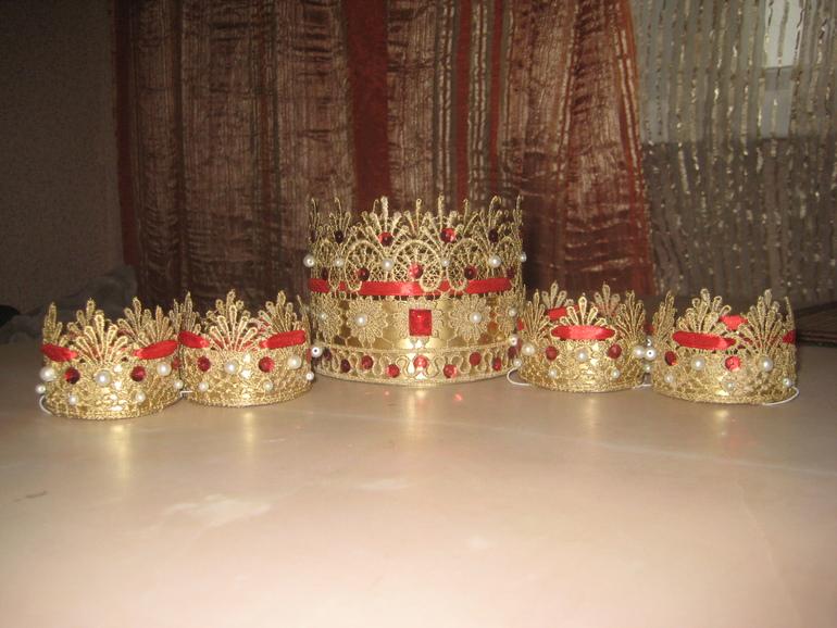 Корона из бумаги своими руками. Шаблон для вырезания