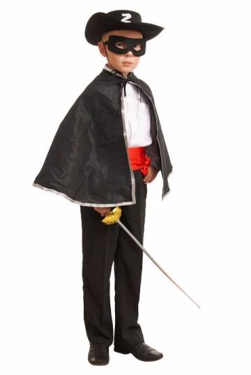 Новогодние костюмы для мальчиков своими руками зорро