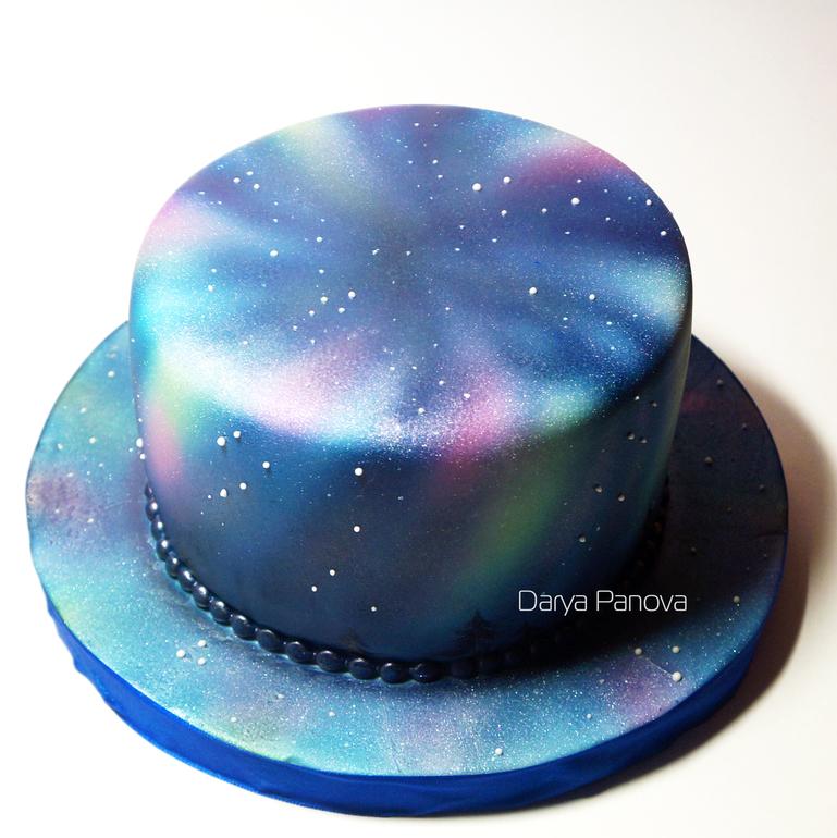 Как сделать космос торт 603