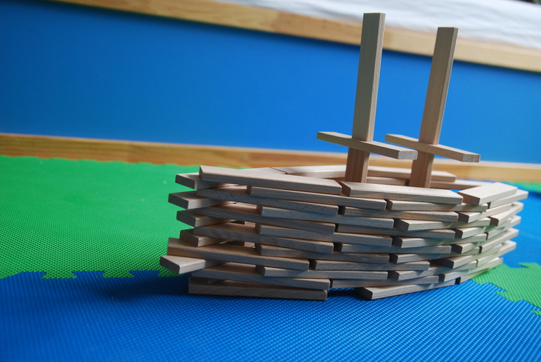 Деревянные конструкторы (обзор экоигрушек)