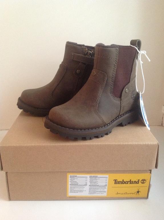 Ботинки  Timberland  (оригинал)  новые,  унисекс,  размер  5.5  (22),  Москва