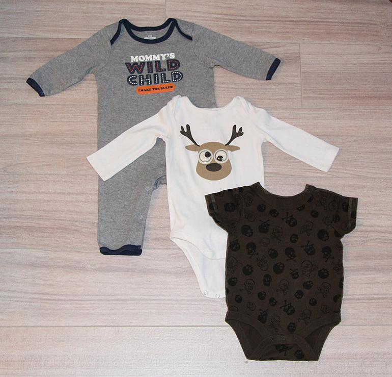 Одежда  для  мальчика  Gap,  Crazy8,  Old  Navy,  MotherCare,  Mayoral  и  др.  от  0  до  6  мес.,  б/у  в  идеале