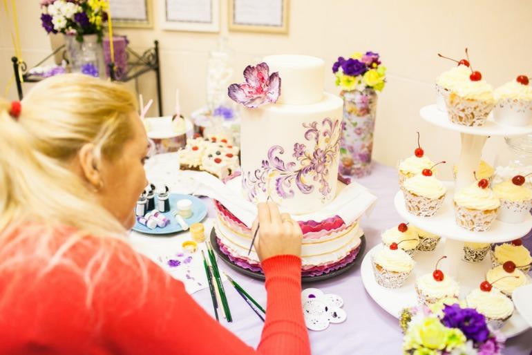Краска для росписи торта
