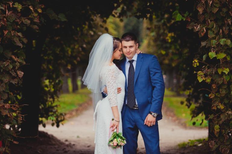 Архангельское свадебная фотосессия