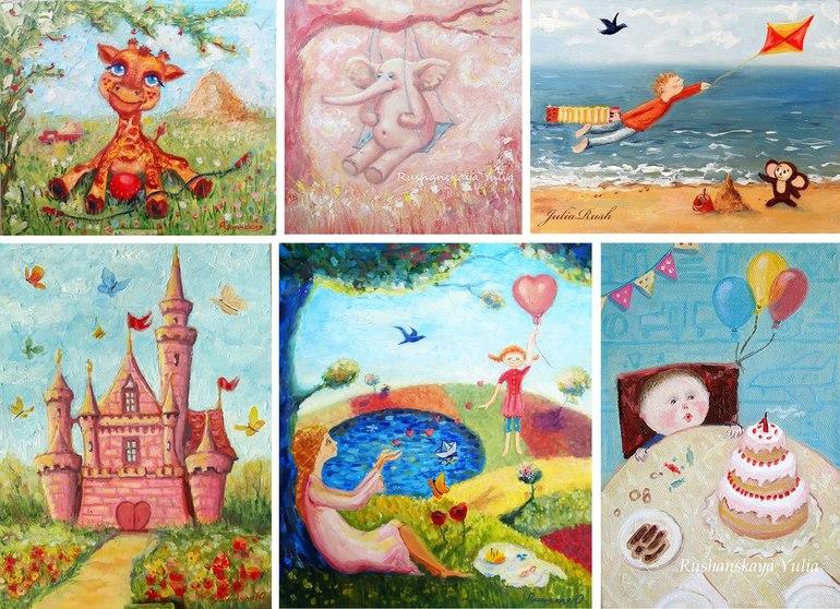 Картины в детскую.