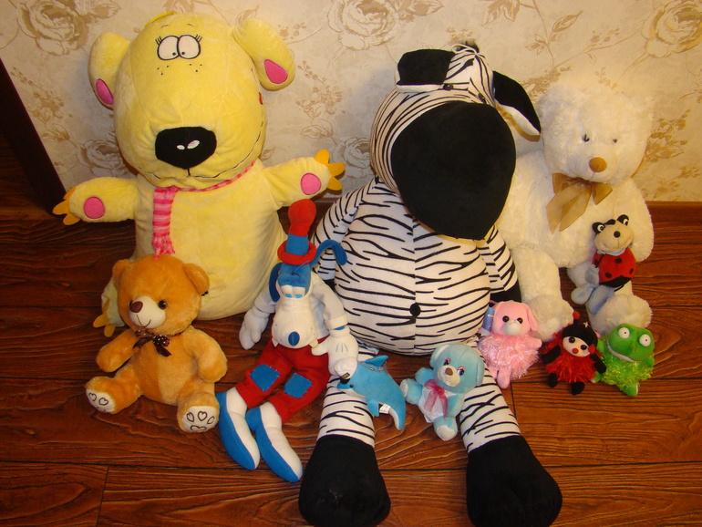 Мягкие игрушки (Сочи)