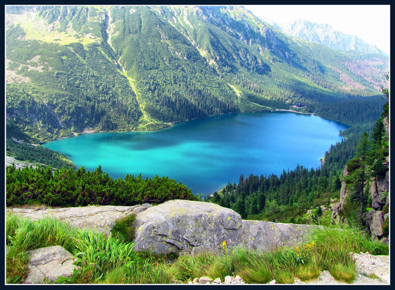 Польские горы летом
