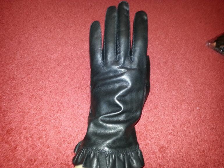 Кожаные перчатки женские НОВЫЕ