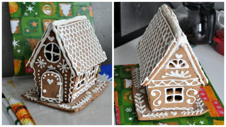 Пряничные домики - вкусный и отличный подарок на Новый год и Рождество