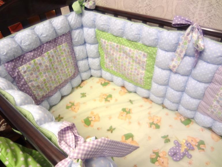 Сшить подушки в детскую кроватку мастер класс 50
