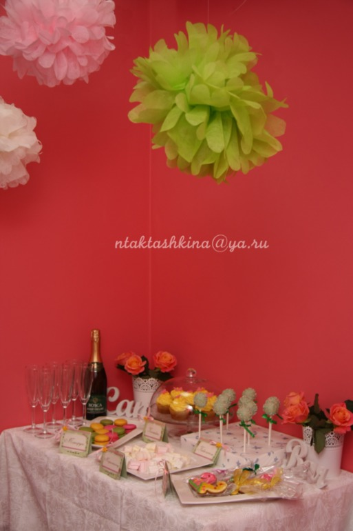 Candy Bar (сладкий стол) на заказ