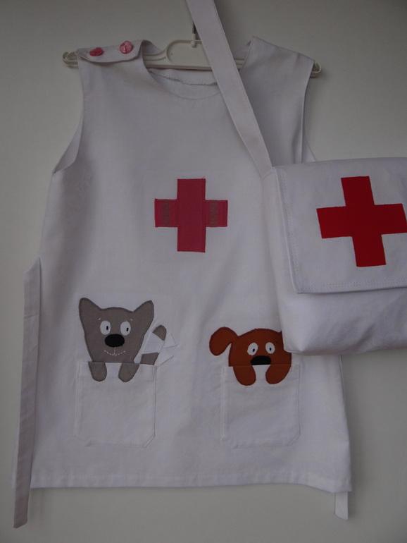 Костюм медсестры для девочки своими руками в детский сад 5