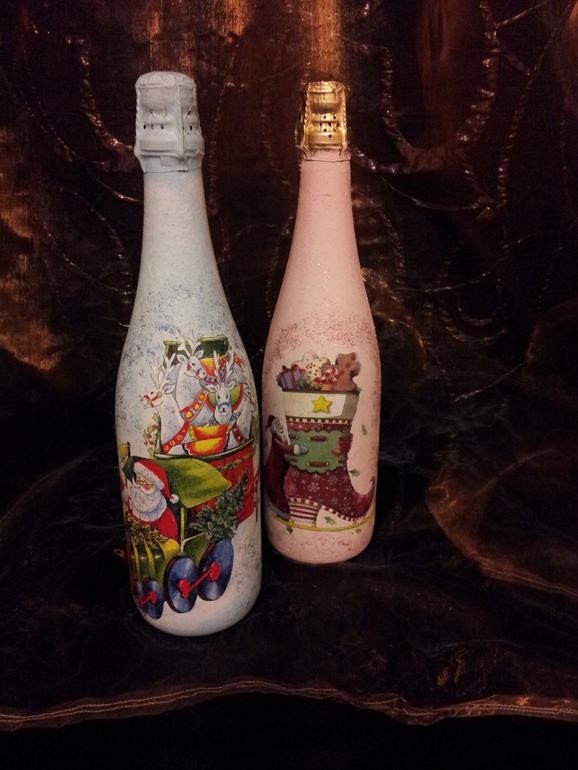 Новенькие бутылочки