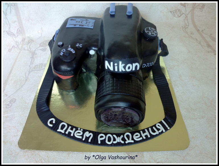 Торт фотоаппарат мк