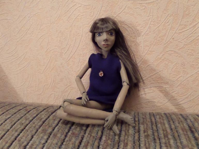 Моя первая шарнирная кукла