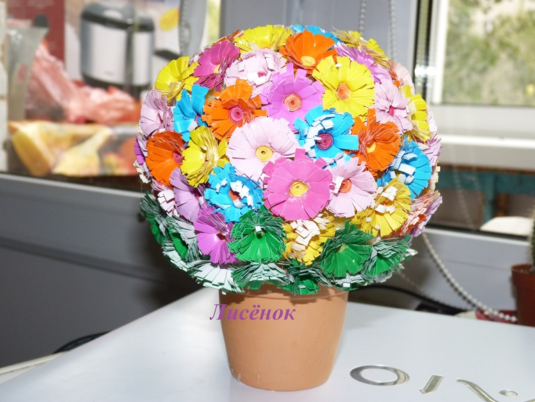 Цветочный шарик.....
