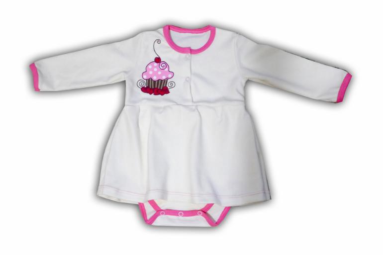 Как сшить платье боди для малышки 28